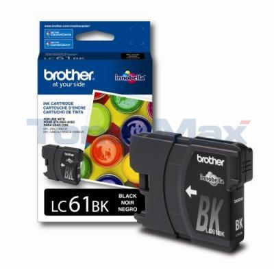 BROTHER DCP165C INK CARTRIDGE BLACK